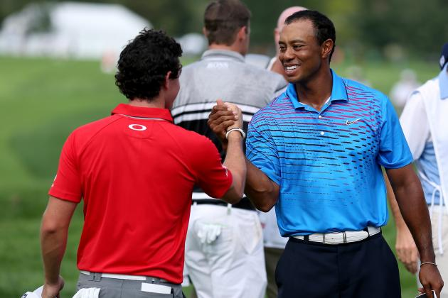 Tiger Woods at BMW Championship 2012 Tracker: Day 2 Highlights, Updates and More