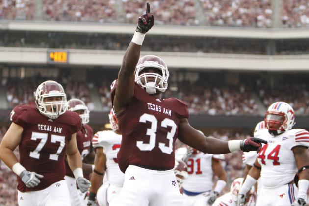Texas A&M vs. Florida: Production from Aggies Ground Game Is Essential