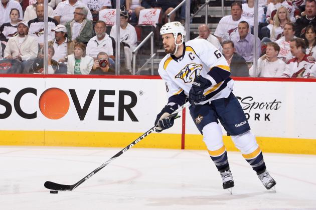 Shea Weber Back at Work with Predators