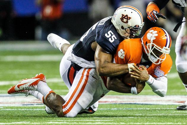 Auburn vs. Mississippi State: Bulldogs Must Hold off Tigers D-Line to Win