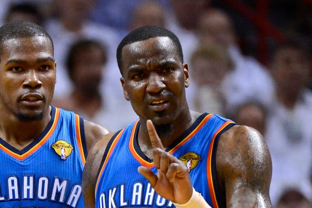 Should the OKC Thunder Amnesty Kendrick Perkins in 2013 Offseason?