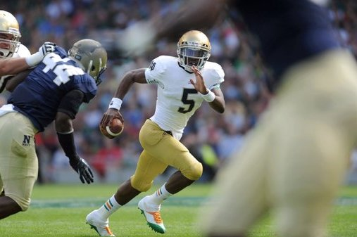 Notre Dame Football: Purdue Game Perfect Time to Unleash Everett Golson