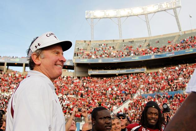 Steve Spurrier: We Aren't Giving Up on the Passing Game