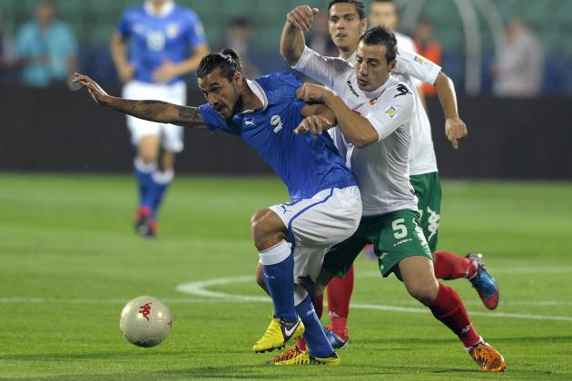 Match Report: Bulgaria 2-2 Italy