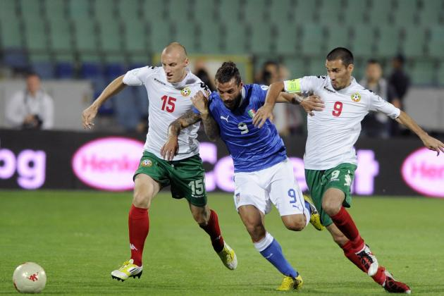 World Cup Qualifying: Italy Suffer Shocking Draw Against Bulgaria