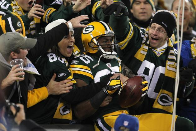 Greg Jennings Explains Awful Side of Lambeau Leap, Fans Get Grabby