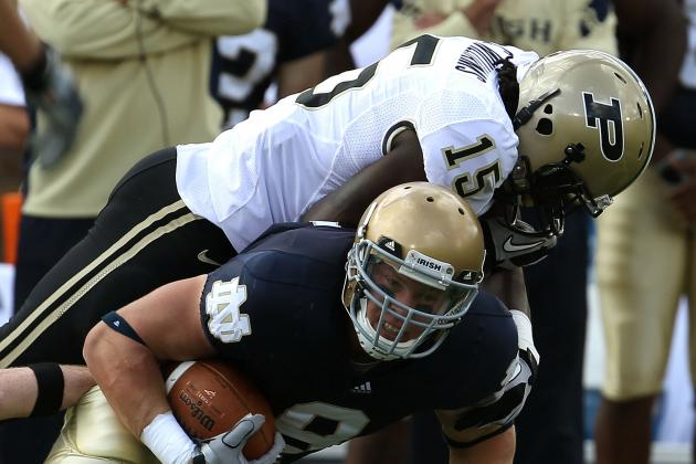 Purdue vs. Notre Dame: Live Score, Analysis and Results