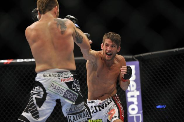 UFC 154 Adds Exciting Lightweight Clash Between Sam Stout and John Makdessi