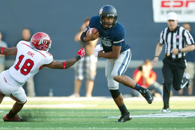 Utah vs. Utah State: Utah State Aggies Upset Utah for 1st Time in 15 Years