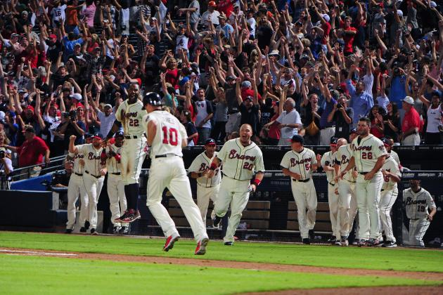 Chipper Jones' Walk-Off Homer a Turning Point for Atlanta Braves