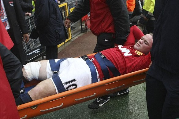 Wayne Rooney Came Within Centimetres of Death Against Fulham