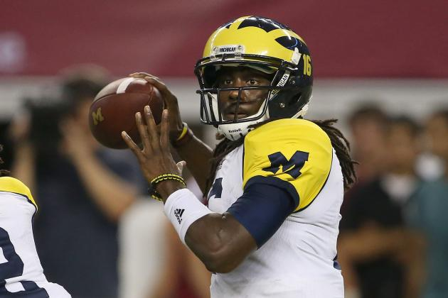 Air Force vs. Michigan: Denard Robinson Will Join Heisman Race with Monster Game