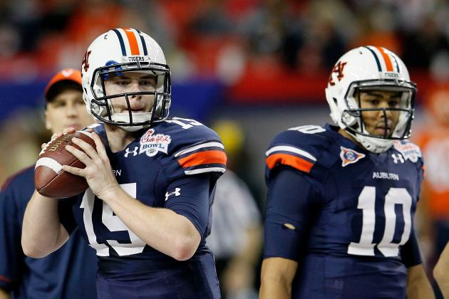 Auburn vs. Mississippi State: Kiehl Frazier Can Avoid QB Controversy with Win
