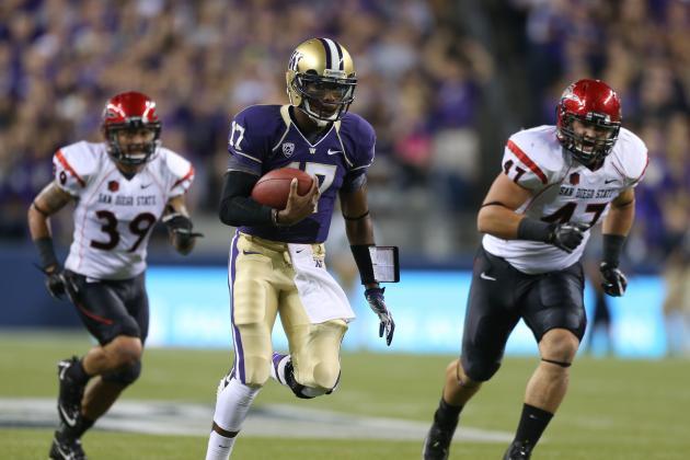 Washington vs. LSU: Keith Price Needs Great Game to Raise 2013 Draft Stock