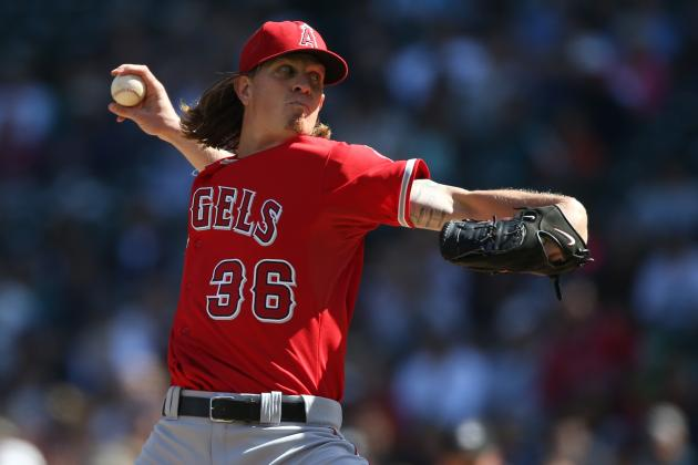 Jered Weaver Not Sure When He'll Return to Angels' Rotation