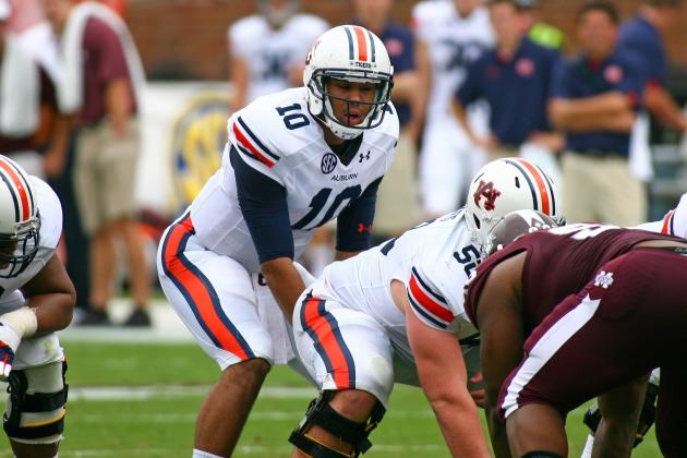 Auburn Football: QB Kiehl Frazier Was Bad, but He's the Tigers' Only Option