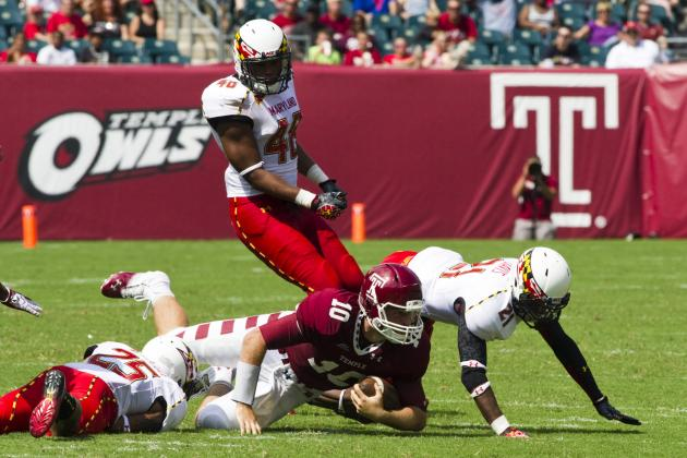 Maryland 36, Temple 27