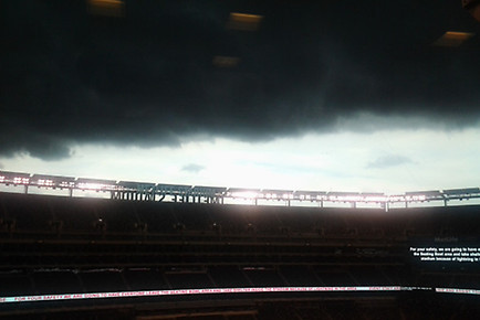 Image: The Weather Has Taken over the USC-Syracuse Game