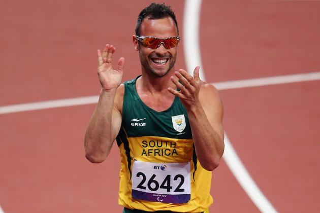 Pistorius Ends Paralympics with First Individual 2012 Gold