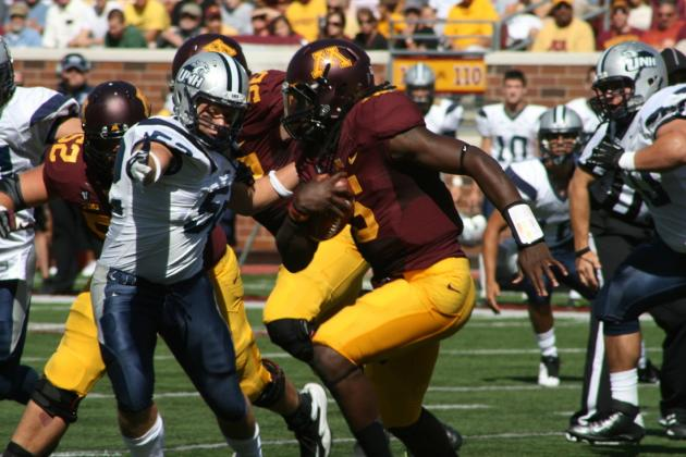 MarQueis Gray Has Big Day as Minnesota Golden Gophers Rout New Hampshire, 44-7