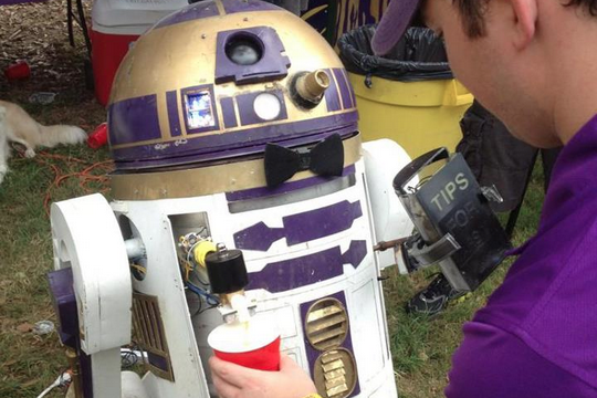 R2-D2 Kegerator at LSU