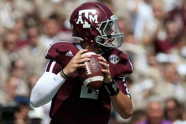 SEC Football: Johnny Manziel and Young Guns Who Looked All-Conference in Week 2