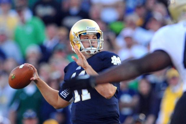 Purdue vs Notre Dame: Tommy Rees' Heroics Shouldn't Create QB Controversy