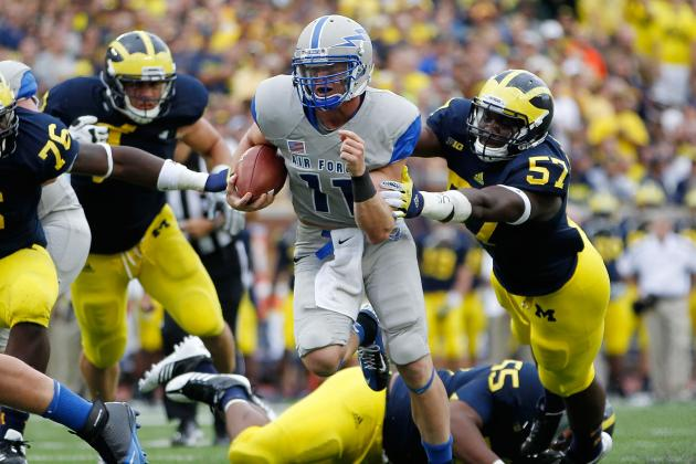 Air Force vs Michigan: Wolverines' Struggles Reinforce Ranking Outside of Top 10
