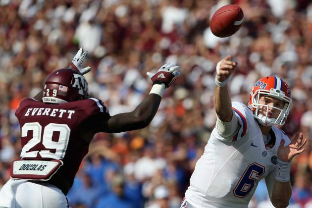 Florida Football vs Texas A&M: Jeff Driskel's Performance Solid for Offense Now