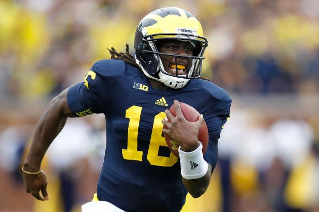 Denard Robinson: Monster Day Doesn't Make Michigan QB Heisman Contender