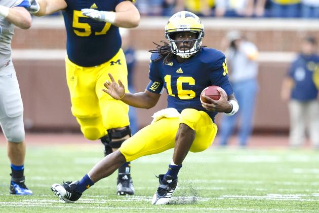 Denard Accounts for 101% of UM Offense