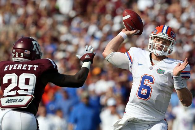 Florida vs. Texas A&M: Jeff Driskel Shows Why He Has Enormous Potential