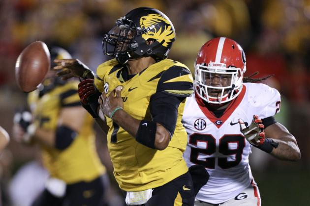 Georgia vs. Missouri:  Live Scores, Analysis and Results