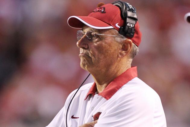 Arkansas' Loss to Louisiana-Monroe Proves John L. Smith Isn't SEC Caliber Coach