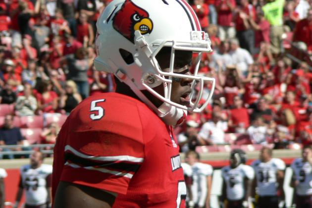 Louisville Football: Teddy Bridgewater Shines in Win Over Missouri State