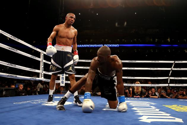 Andre Ward Should Be No. 2 on Pound-for-Pound List Behind Floyd Mayweather Jr.