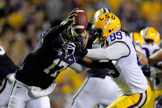 2012 College Football Rankings and Polls: Alabama, USC, LSU, UCLA Impress Week 2