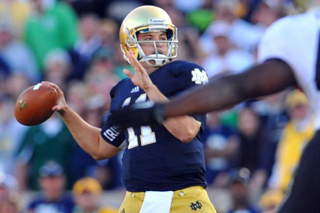 Notre Dame Fans Can Boo Tommy Rees All They Want