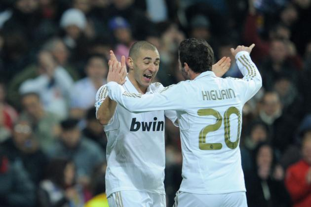 Real Madrid: Who Should Be the First-Choice Striker, Higuain or Benzema?