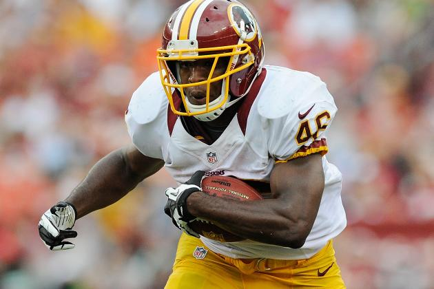 Alfred Morris Reportedly Will Start for Washington Redskins vs. Saints in Week 1