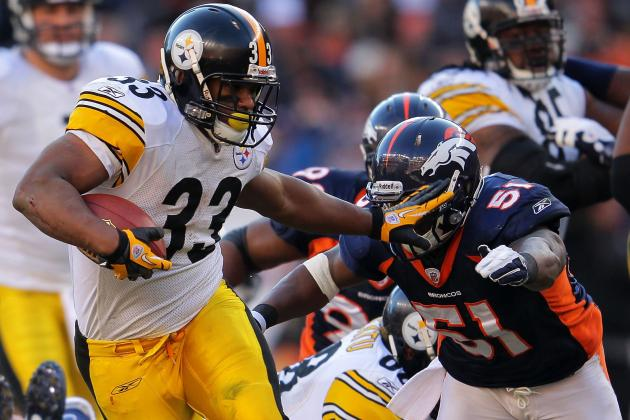 Isaac Redman, Not Rashard Mendenhall, Reportedly Will Start for Steelers