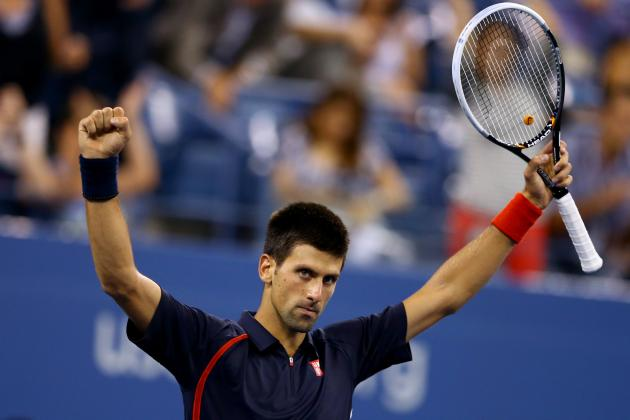US Open Tennis 2012: Djokovic Will Rally to Defeat Ferrer After Weather Delay