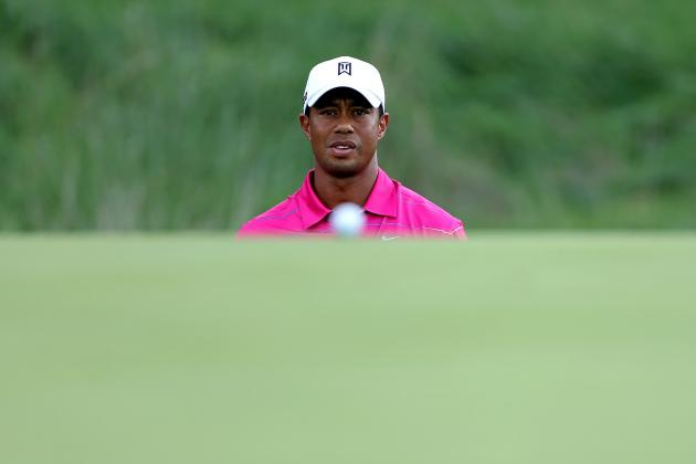 Tiger Woods at BMW Championship 2012 Tracker: Day 4 Highlights, Updates and More