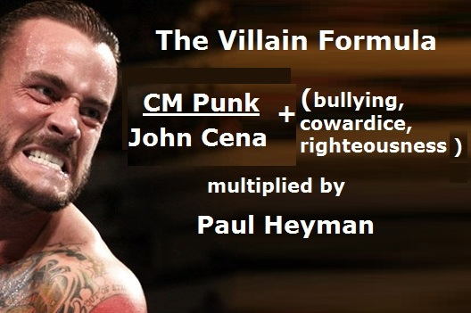 WWE: The Heel Formula Is Part CM Punk, Part Villainy