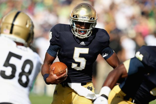 Notre Dame Football: Has Brian Kelly Undermined Everett Golson?