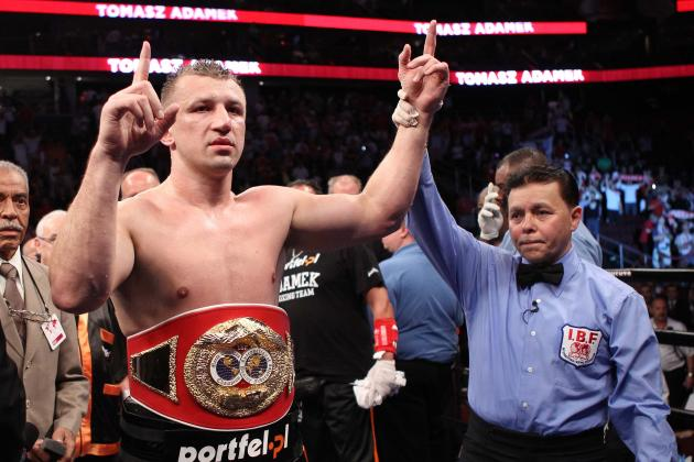 Adamek vs. Walker: Goral Is Still in Klitschkos' Shadow Despite Thrilling Win