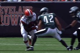 Trent Richardson Video: Watch Browns Rookie Lower the Boom vs. Eagles