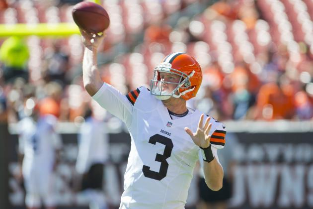 Week 1 Waiver Wire: Brandon Weeden and Players Fantasy Owners Should Dump