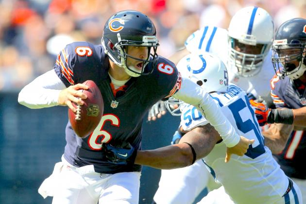 Cutler, Offense Sluggish Early End Strong in Win over Luck and Colts