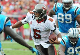 Josh Freeman led the Bucs to a victory over the Panthers.
